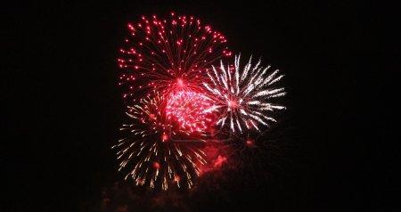 Fireworks Display event background celebrate