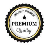 Zlaté prémiové kvality odznak