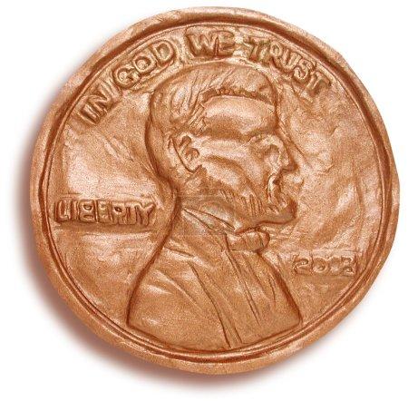 3D Sculpture of Penny