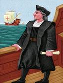 Illustration of Columbus