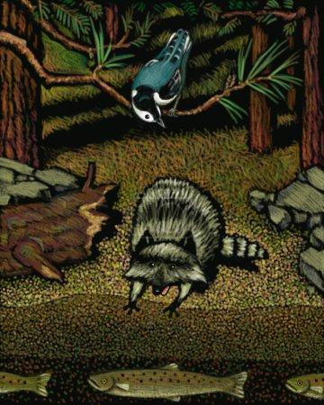 Photo pour Illustration de la faune - image libre de droit