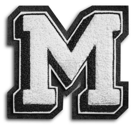 Foto des Schulsportbriefes - schwarz-weiß m