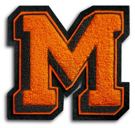 Foto des Schulsportbriefes - schwarz und orange m