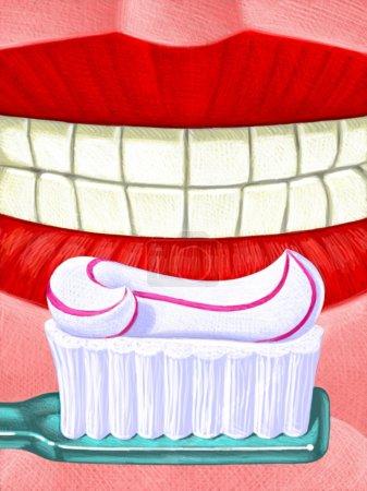 Illustration of Oral Care
