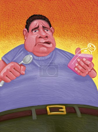 Illustration of Upset Stomach