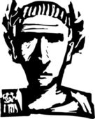 Vector Illustration of Caesar