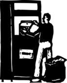 Vektorové ilustrace drcení hliníkové plechovky