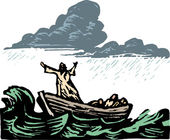 Woodcut Illustration of Galilee