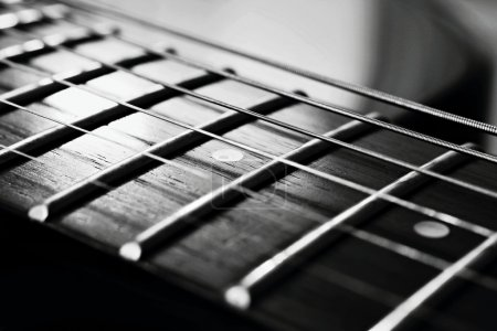 Photo for The endless strings of electric guitar - Royalty Free Image