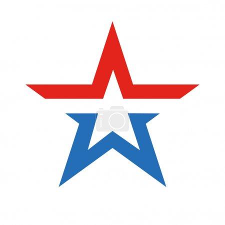 New star - simbol of Russian Army