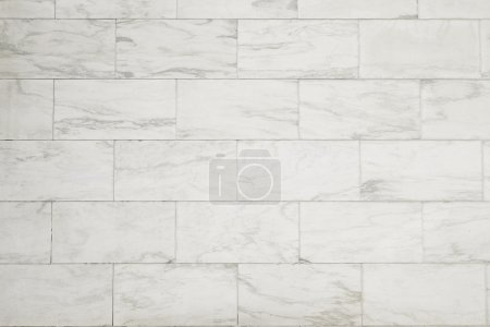 white Marble block wall texture background