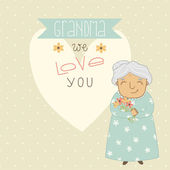 Karta pro babičku