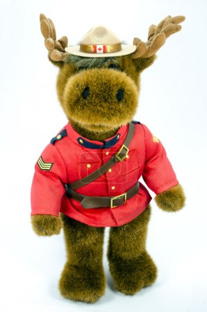 Royal Canadian Mounted Police Moose Soft Toy