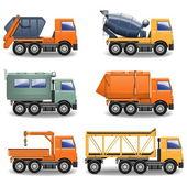 Vector Construction Machines Set 2