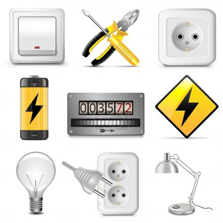 Vector Electrical Icons