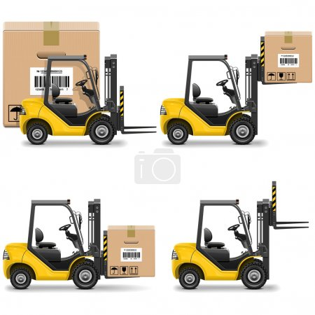 Vector Shipment Icons Set 20