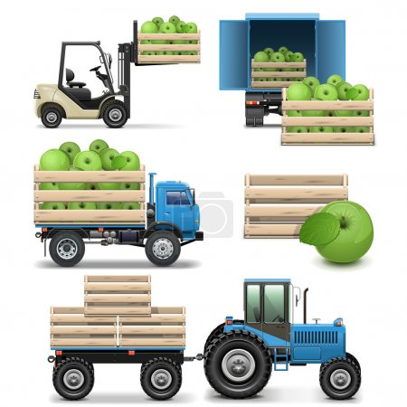 Vector Agricultural Icons