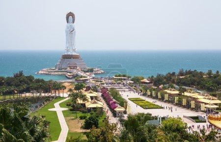 Guanyin statue, Hainan, China. Canon 5D Mk II....