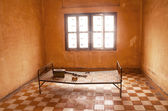 Prison cell in Tuol Sleng