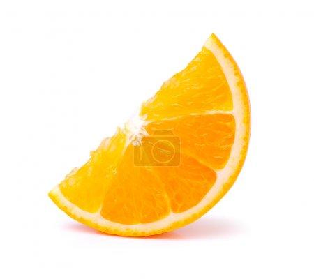 Photo pour Tranche d'orange - image libre de droit
