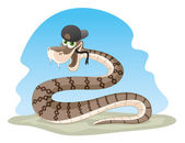 Vector illustration Snake