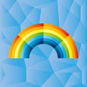Vector illustration Rainbow