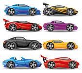 Vector set Car icons