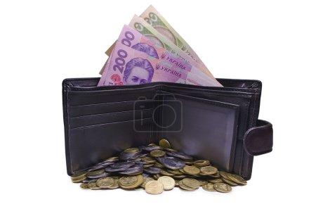 Photo pour Beaucoup de pièces, garder l'argent, les gains d'argent, l'argent de l'abondance - image libre de droit