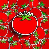 Tomato background