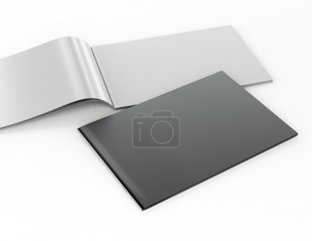 Blank catalog in A4 horizontal format