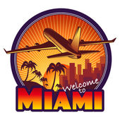 Miami travel label