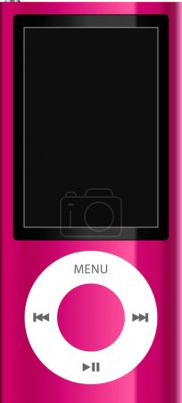 Pink mp3 player...