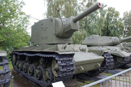 Soviet historical Tank KV2 Klim