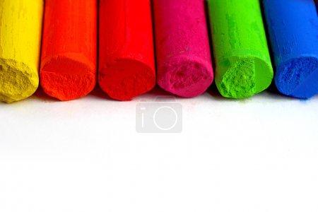 Color spectrum pastel sticks - education, arts,creative, back to school
