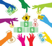 Creating common property in dollars