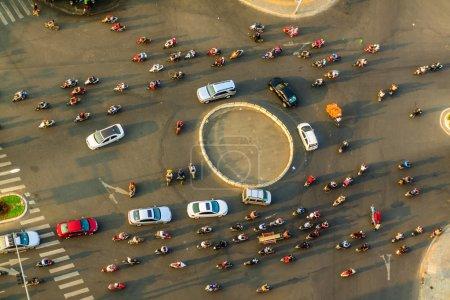 Traffic in Da nang city