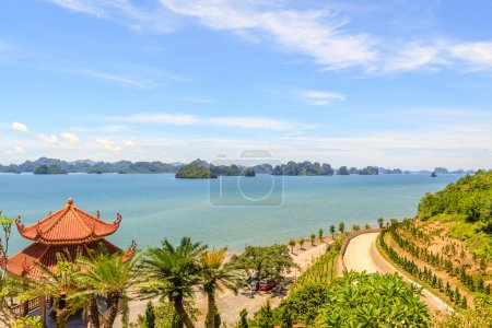 Photo for Ha long bay at Quang Ninh province, Vietnam - Royalty Free Image