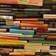Library Book Wall...