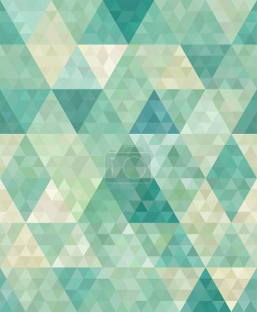 Illustration for Seamless background with abstract geometric ornament - Royalty Free Image
