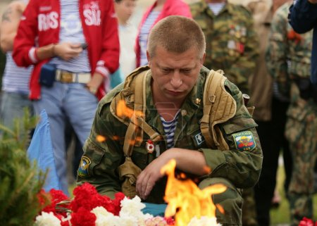 Russia. Day of airborne forces 02.08.13