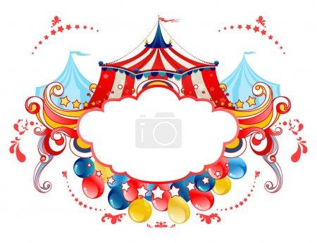 Circus tent frame
