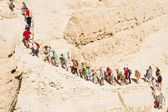 Routes at the Dead Sea