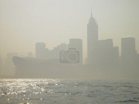 Smog in Hong Kong