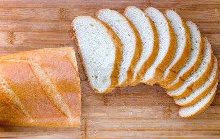 Sliced long loaf
