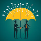 Secure or protect the customer under umbrella