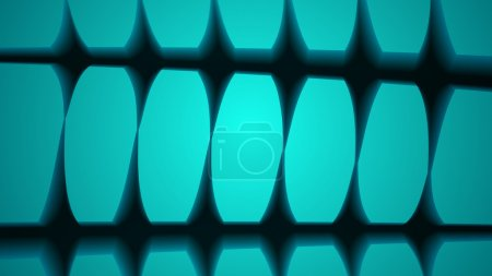 Blue vector abstract surface