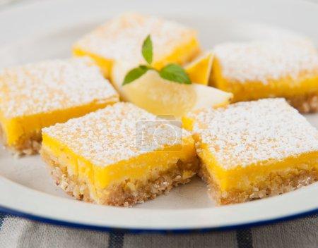 Gluten, Sugar, and Dairy Free Homemade Lemon Bar Cookies