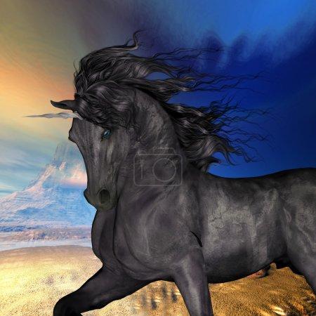 Black Buck Unicorn