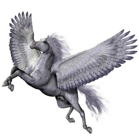 Silver Winged Pegasus