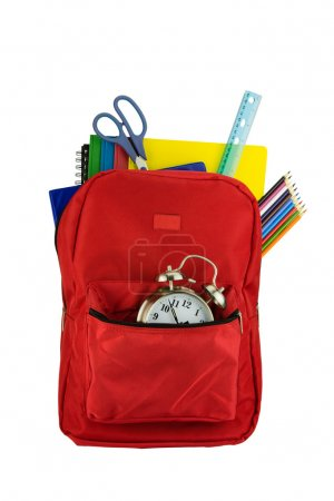 Backpack and Stationery